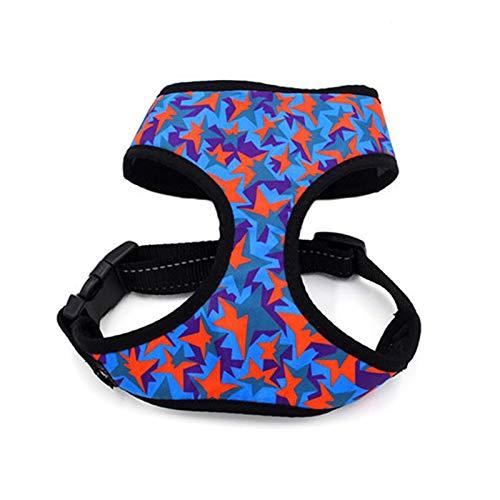 YNX MLKCL - Chaleco de perro para perros pequeños y medianos sin tirones, transpirable y grueso (color: color 4, talla: S)