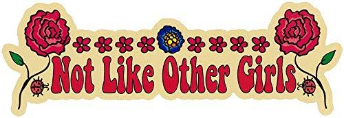 Grateful Dead Not Like Other Girls - Bumper Sticker/Decal (8.75' X 2.5')