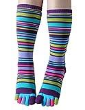 Women Toe Socks Funky Finger Socks Cute Cartoon Cotton Socks (09)