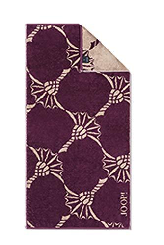 Joop! Handtuch Infinity Cornflower Zoom 1677   83 Plum - 50 x 100