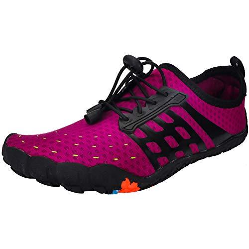 Chaussures Aquatiques Homme Femme Chaussures d'eau Chaussures de Plage Séchage Rapide Chaussures de...