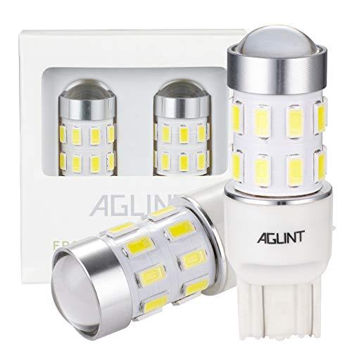 AGLINT T20 LED Bombilla W21W 7443 7440 24SMD Auto Para Freno Cola de Copia de Seguridad Reverse Señal de Giro Luz de Estacionamiento Marcha Atrás Bombilla Luces Traseras