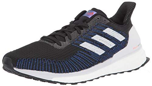 Adidas Solar Boost St 19 M Chaussure de course pour homme, noir (Noir gris foncé rouge solaire.), 42.5 EU