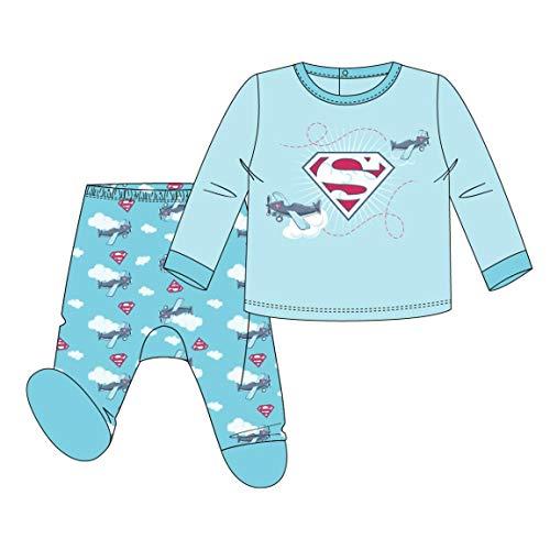 Artesania Cerda Polaina Superman Mono, Azul (Azul C36), 3m para Bebés
