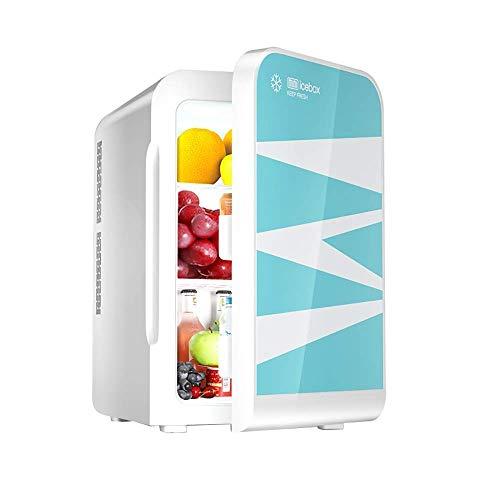 MQJ 22L Mini Compacto Personal Frigorífico Coche Refrigerador Ultra Silencioso Bajo Ruido Refrigerador Eléctrico Y Calentador Ac/Dc Coche Portátil Frigorífico Congelador