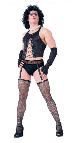 Forum Novelties mens The Rocky Horror Picture Show Frank and Furter Complete Adult Sized Costumes, Black, X-Large US