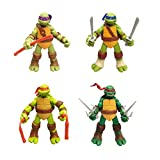 TMNT Toy Sets of 4 Pcs for Kids,Teenage Mutant Ninja Turtles Action Figure,4 Collectible 2.5-Inch Action Figures, Toys for Kids Ages 3 and Up