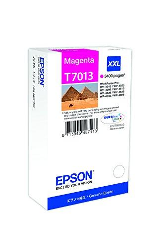 Epson T701340 Workforce Pro Wp 4015/4025/4545 Inkjet / Getto d'Inchiostro Cartuccia Originale, con Amazon Dash Replenishment Ready