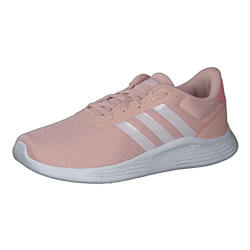 adidas Lite Racer 2.0 K, Zapatillas de Running Unisex Adulto, ROSVAP/FTWBLA/SUPPOP, 39 1/3 EU