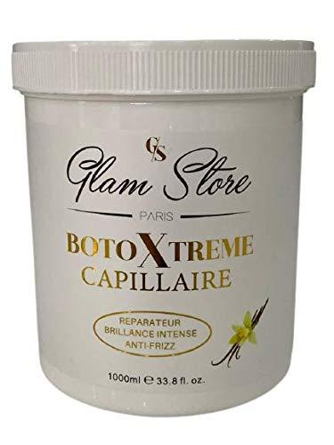GLAM STORE Cura dei capelli botox capelli estremamente danneggiati (vaniglia)