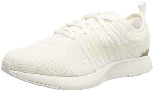 Nike Dualtone Racer (GS), Zapatillas de Gimnasia para Niños, Blanco (Summit White/Mtlc Summit Wht/M 103), 40 EU