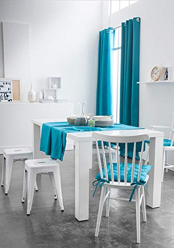 Today 257535 Nappe Coton Mer du Sud/Bleu 140 x 240 cm