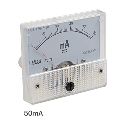 Cloudray 50 mA Amperemeter HUA 85 C1 Analog-Ampelmessgerät für CO2-Laser-Gravur-Schneidemaschine