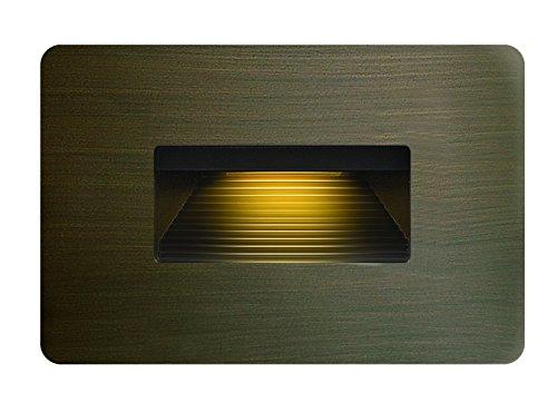 Hinkley 58508MZ Hardy Island LED Step Light, Small Horizontal (120V), Matte Bronze
