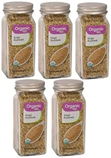 Great Value Organic Sage Rub, 0.8 oz (Pack of 5)