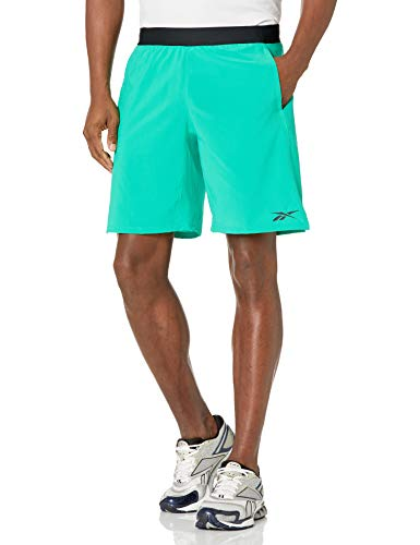 Reebok Training Supply Speedwick Speed Shorts, Court Green, S