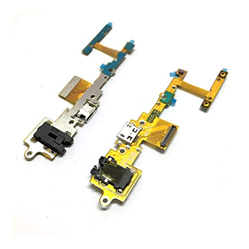 HenShiXin Sensible Puerto USB de Carga Junta Fit Yoga For Lenovo Tablet 2 Pro 1380 1380F USB Base de Carga del Puerto Flex Piezas de reparación del Cable sólido