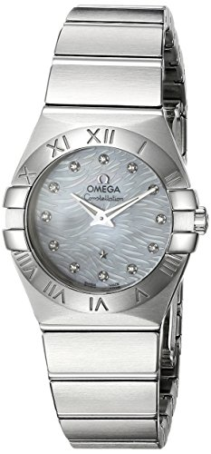 OMEGA dameshorloge 27 mm Zwitsers kwarts ANALOG 123.10.27.60.55.004