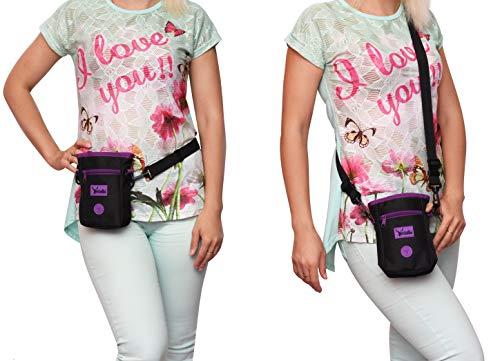 Arcadian Dog Treat Pouch, Dog Walking Bag with Adjustable Shoulder Strap...