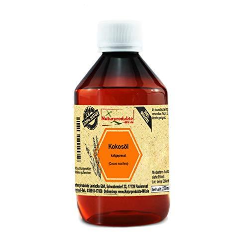 100{7a7f4b5543a8415ee778eb3a2929288a1504f94a157afe0d7efc71a409ea7909} reines Kokosöl (250 ml) Kokos Massage Öl