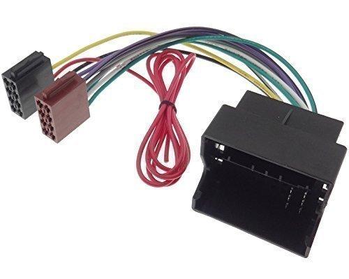 FIAT adaptador de Radio Quad Lock cable ISO Scudo Qubo Ulysse
