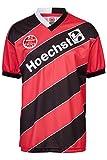 ScoreDraw Herren Retro - Trikot Eintracht Frankfurt | Heimtrikot 1988 in Schwarz-Rot, Größe: 3XL