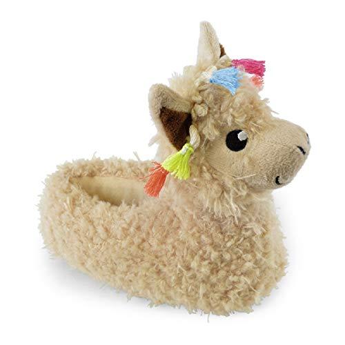 SlumberzzZ Kinder Neuheit Llama Hausschuhe (Medium EU 30-31)
