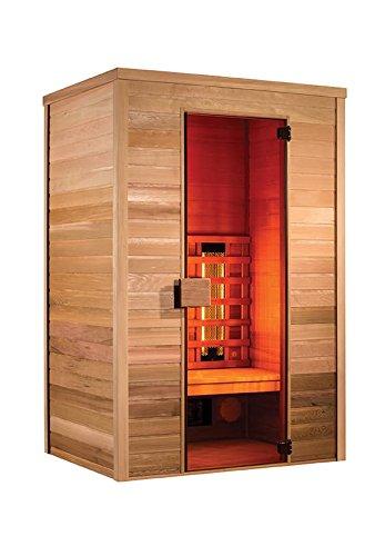 Holl'sMultiwave–Sauna por infrarrojos –2plazas