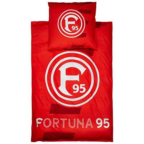 Fortuna Düsseldorf F95 Bettwäsche Fortuna rot