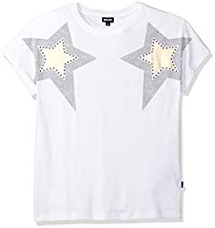 White Night T-Shirt with Rhinestones