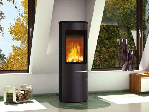 Olsberg Tacora Compact - Estufa de leña (6 kW, acero),