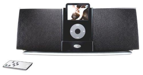Klipsch Igroove SXT - Altavoces y radio con puerto dock, negro (importado)