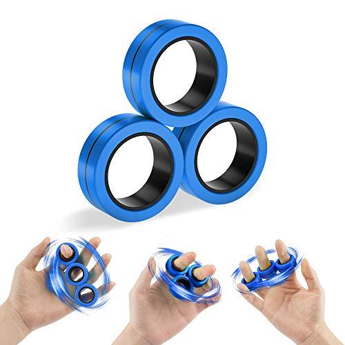3-PCS-Magnetic-Rings-RIOROO-Finger-Hand-Spinner-Toy-for-Kids-Adult-Finger-Toys