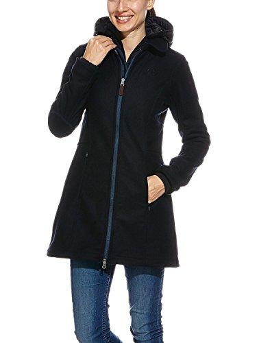 Tatonka Damen Mantel Selie Coat, Blue Nights, 42