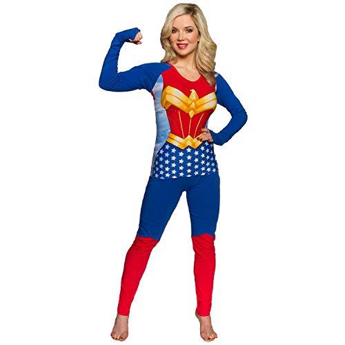 Wonder Woman - Juego de Pijama para Mujer - Azul - S