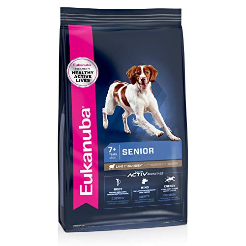 Eukanuba Senior Lamb 1st Ingredient Dry Dog Food, 30 lb. bag