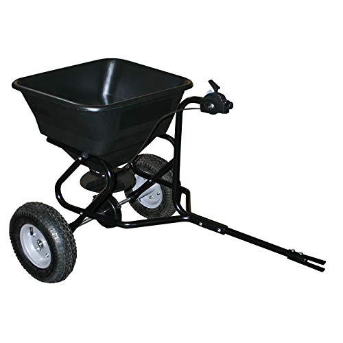 Handwagen Streuwagen für Aufsitzmäher 30kg mit Luftreifen für Saatgut Streusalz TC2029;;;;;