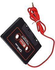 Guangcailun Cassette del Coche Adaptador de 3,5 mm AUX Conector Macho Cinta de Casete del Coche Converter para Reproductor de CD MP3