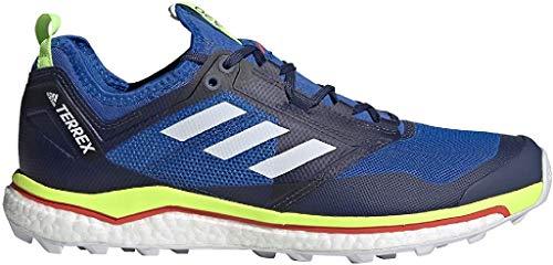 adidas Terrex Agravic XT, Zapatillas Deportivas Tiempo Libre y Sportwear Hombre, Morado (Glory Blue/FTWR White/Signal Green), 49 1/3 EU