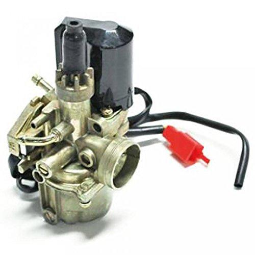 Carburador para Peugeot Speedfight todos a 50 cc NC 14194 estado nuevo tipo Carbu origen 16 mm de diámetro con starter automático para 2 el tiempo de motor carburador está diseñado para la lubricación séparé. Envío conforme a la cámara de fotos.