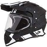 O'Neal - 0817-C14 Unisex-Adult Off Road SIERRA II Helmet (COMB) (Black/White, Large)
