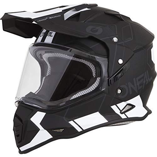 O'Neal Unisex-Adult Off Road Sierra II Helmet (Comb) (Black/White, X-Small)