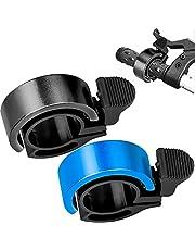 Winfred 2 Pack Aluminium Innovatieve Bike Bell Bike Ring met Luid Crisp Clear Sound Draagbare Fietsbel Onzichtbare Hoorn Accessoires Ontwerp voor Elektrische Fiets/Mountainbike/Racefiets