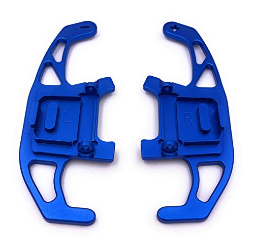 H-Customs DSG Schaltwippen Replacement Shift Paddle Golf 7 nur GTI R GTD Aluminium Blau