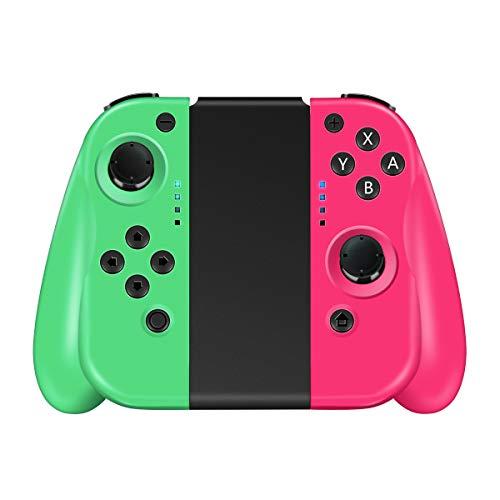 CHEREEKI Controller für Nintendo Switch 2er-Set Links Rechts Replacement Joystick für Joy Con Kabelloser Bluetooth Pro Game Gamepad Joypad Joystick Unterstützung für Kabelverbindung