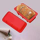 Keemov Molde de silicona para pan tostado, molde de pan grande para hornear pan antiadherente