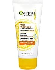 Garnier SkinActive Fast Fairness Face Wash with Pure Lemon Essence 100 ml