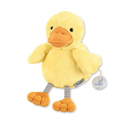Sterntaler 6011963 Baby Spieluhr M Ente Edda Baby - aus über 100 Melodien ein Spielwerk wählen (* Melodie LaLeLu)