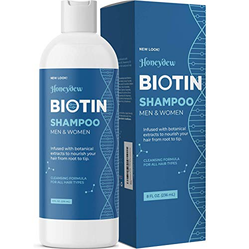 Biotin Hair Shampoo for Dry Hair - Volumizing Biotin Shampoo for Men and Womens Hair Moisturizer - Sulfate Free Shampoo with Biotin and Moisturizing Shampoo for Dry Hair plus Keratin Hair Treatment
