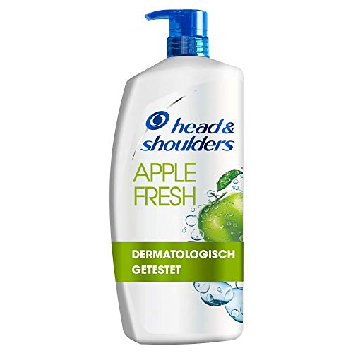 Head & Shoulders XXL Apple Fresh Anti Schuppen Shampoo, 900 ml, Pumpspender,...
